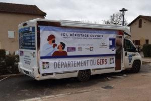 Bus test itinérant, le dispositif départemental de dépistage Covid-19 gratuit